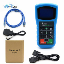 Mileage-Correction--Pin Code-Reader Key-Programmer Diagnosis K-Can-Plus Super-Vag Can-2.0