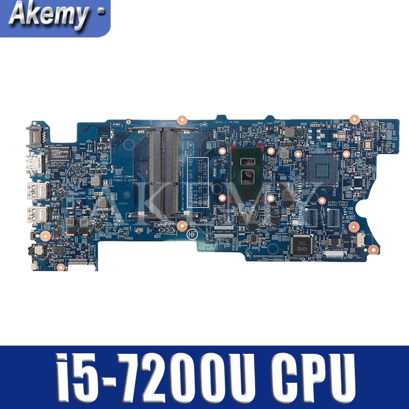 863887-601 863887-001 863887-501 для For HP envy X360 15-BK 15-W 15T-W M6-W Материнская плата ноутбука 448.06202.0021 I5-7200U Процессор