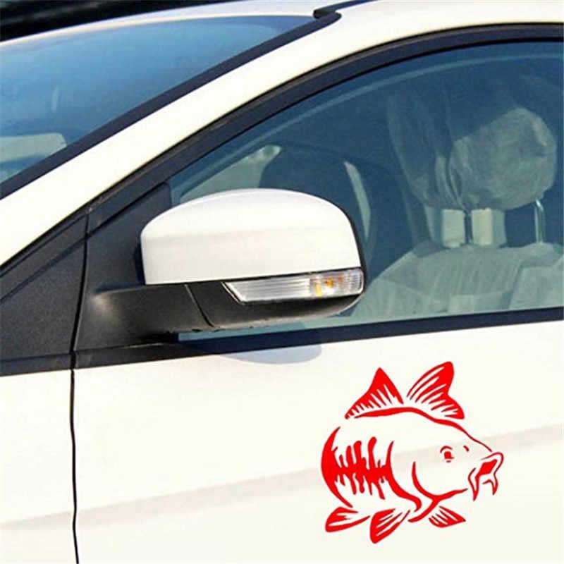 מכירה לוהטת קרפיון דיג רכב ויניל מדבקות אמנות מדבקת קיאק דיג רכב משאית סירת שבטי אביזרי מדבקה לרכב