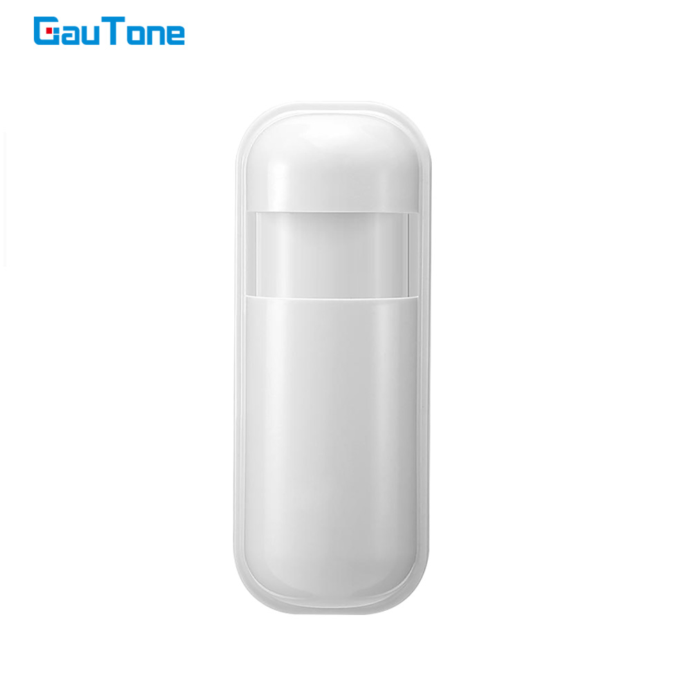 GauTone PIR Motion Sensor Detector 433MHz eV1527 for Home Alarm System Wireless Infrared Motion Detector