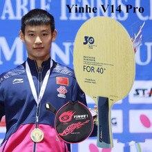 Yinhe-Hoja de tenis de mesa V14 V-14, versión Profesional, 30th aniversario, nuevo material 40 +