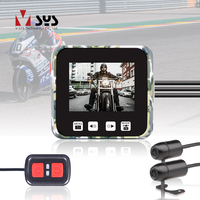 SYS VSYS E6 WiFi 2CH Motorcycle DVR Camera Recorder Dual HD 720P Front & Rear View Waterproof Lens Night Vision Dash Cam System
