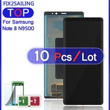 "LCD N9500 Voor Samsung Galaxy Note 8 N9500 N9500F N900D N900DS 6.3 ""Super AMOLED Lcd-scherm 100% Getest Touch screen Assembly(China)"