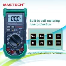 مقياس رقمي متعدد 3 1/2 مقياس قدرة دائرة التوالي التيار المتناوب/تيار مستمر الجهد الحالي المقاومة السعة اختبار الحث درجة الحرارة Mastech MS8269