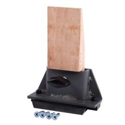 Jubiler żeliwna drewniana ławka Pin miniaturowa imadło stalowe i drewniane do tworzenia biżuterii Hobby w Szczelinomierze od Narzędzia na