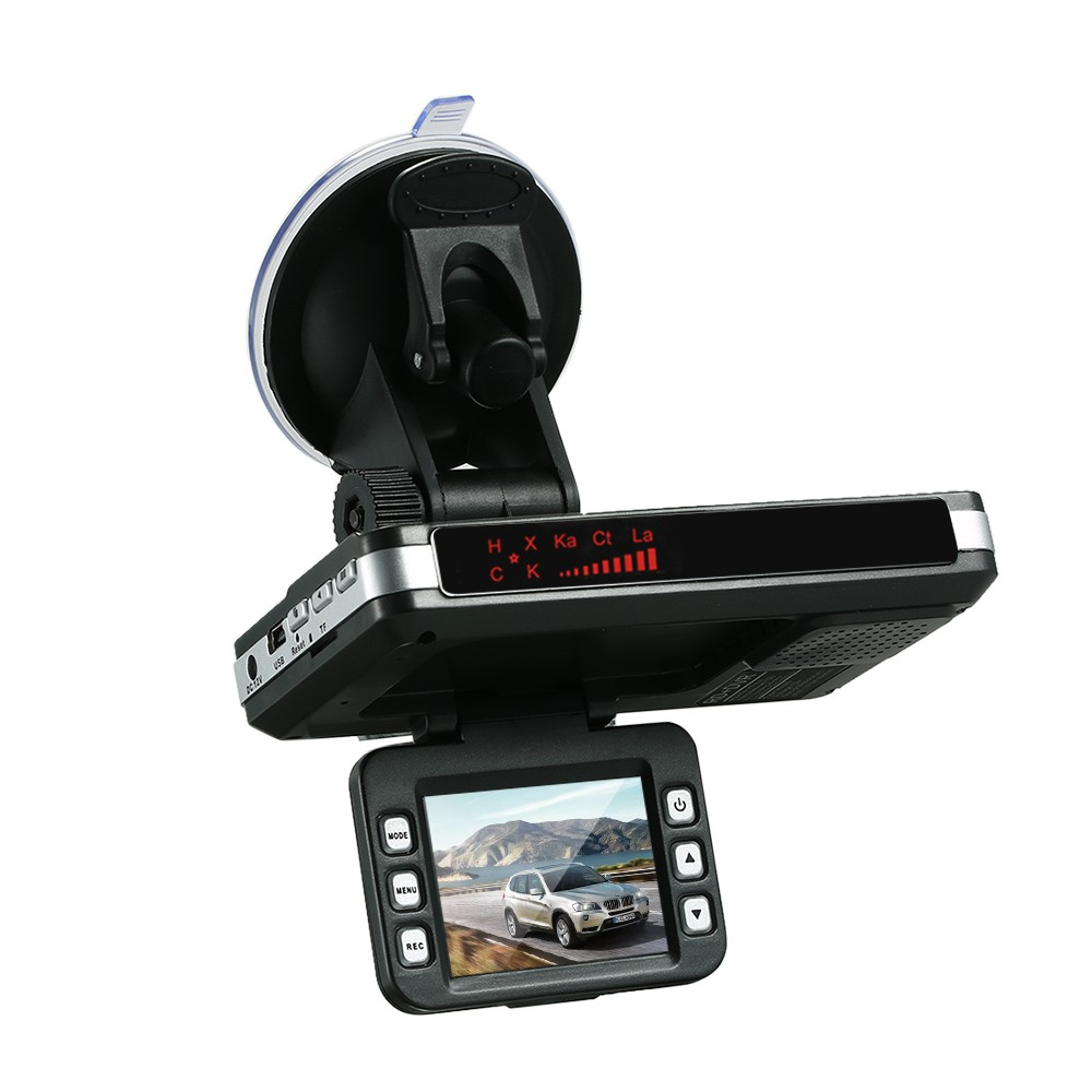 2 In1 Car DVR Radar Dash Cam Laser Video Speed Detector/GPS Camera Record Car Dash Camera Car Dash Camera Video Recorder