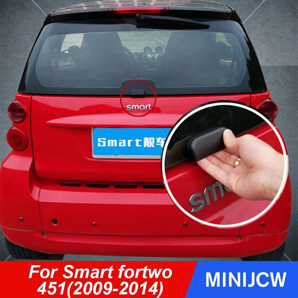 Poignée de pare-choc arrière de voiture | Autocollant pour coffre porte arrière, bouton auxiliaire décoration extérieure pour vieux Smart fortwo 451 accessoires de voiture