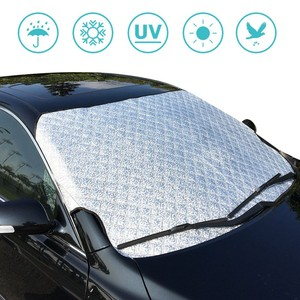 Universal PVC Fabric Car Half Windshield Snow Summer Sunshade Cover Frost Winter Wind Protector Car Shield 190X 95cm