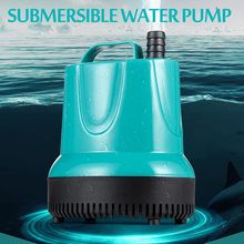 7/15/20/25/35/55/95W Submersible Water Pump 550-4500L/H 220-240V Aquarium Fish Pond Tank Spout Marin Temperature Control Clean