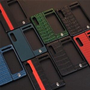 Image 4 - עור טלפון מקרה עמיד הלם מגן כריכה אחורית מעטפת עבור סמסונג W20/לקפל/F9000 נייד טלפון אבזרים