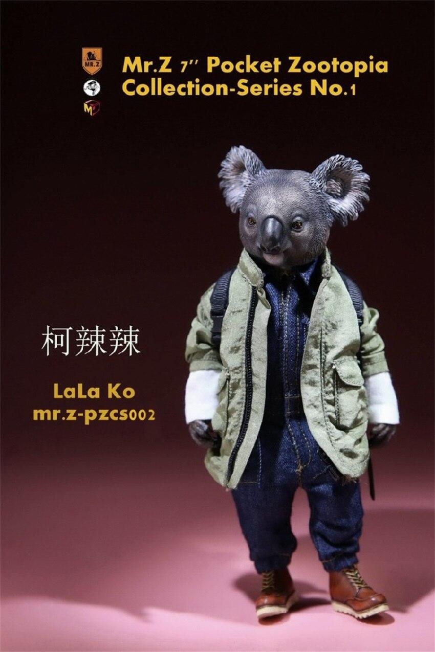 7 coleção de bolso zoo topia série