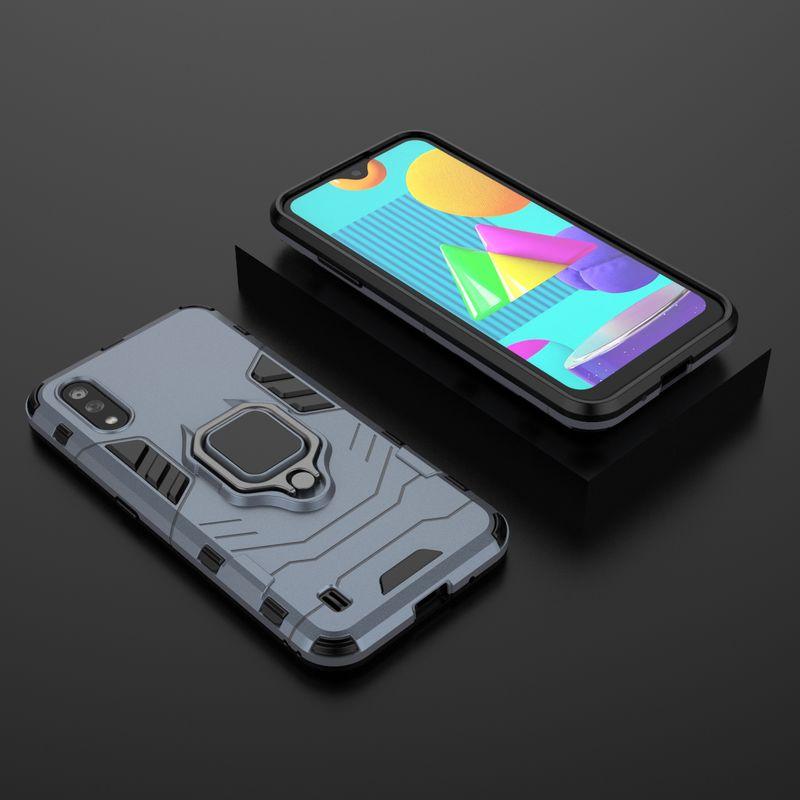 Funda de teléfono a prueba de golpes para Samsung Galaxy J4 J6 Plus J2 Pro 2018, funda protectora de anillo para Samsung A7 A8 A9 2018 Plus 6