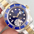 Синие, черные, AAA, дизайнерские, розовое золото, механические, автоматические 116610, мужские часы, s часы, Топ бренд, Роскошные наручные часы 2019