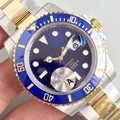 Bleu noir AAA concepteur or Rose mécanique automatique 116610 hommes montre hommes montres haut de gamme montres de luxe 2019