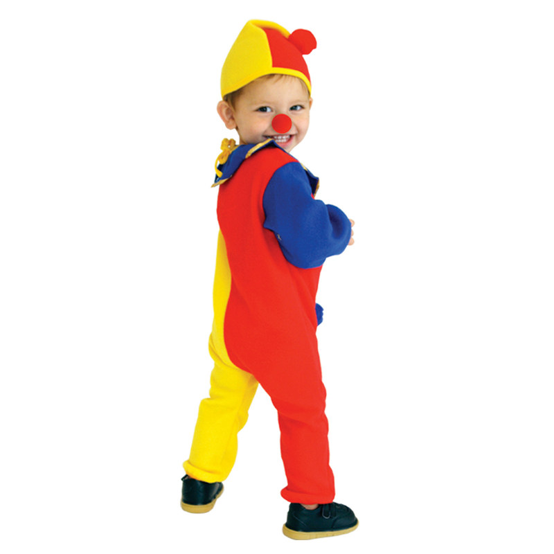 Naughty Haunted House Kids Child Clown Costume for Baby Girls Boys Toddler Halloween Purim Carnival Party Costumes 5