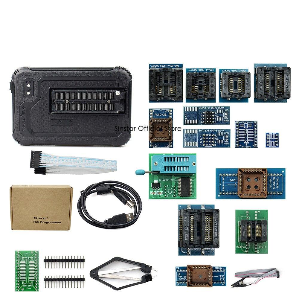 Image 5 - Xgecu t56 programador 56 pinos isp suporte 21000 + com 22 adaptadoresCalculadoras   -