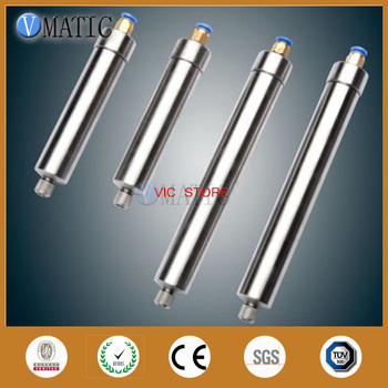 Free Shipping 100cc/ml Corrosion-Resistant Stainless Steel Cones Pneumatic Glue Dispensing Syringe