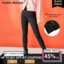 Vero Moda Women's Slim Fit Stretch Brushed Tight-leg Casual Pants | 319374504