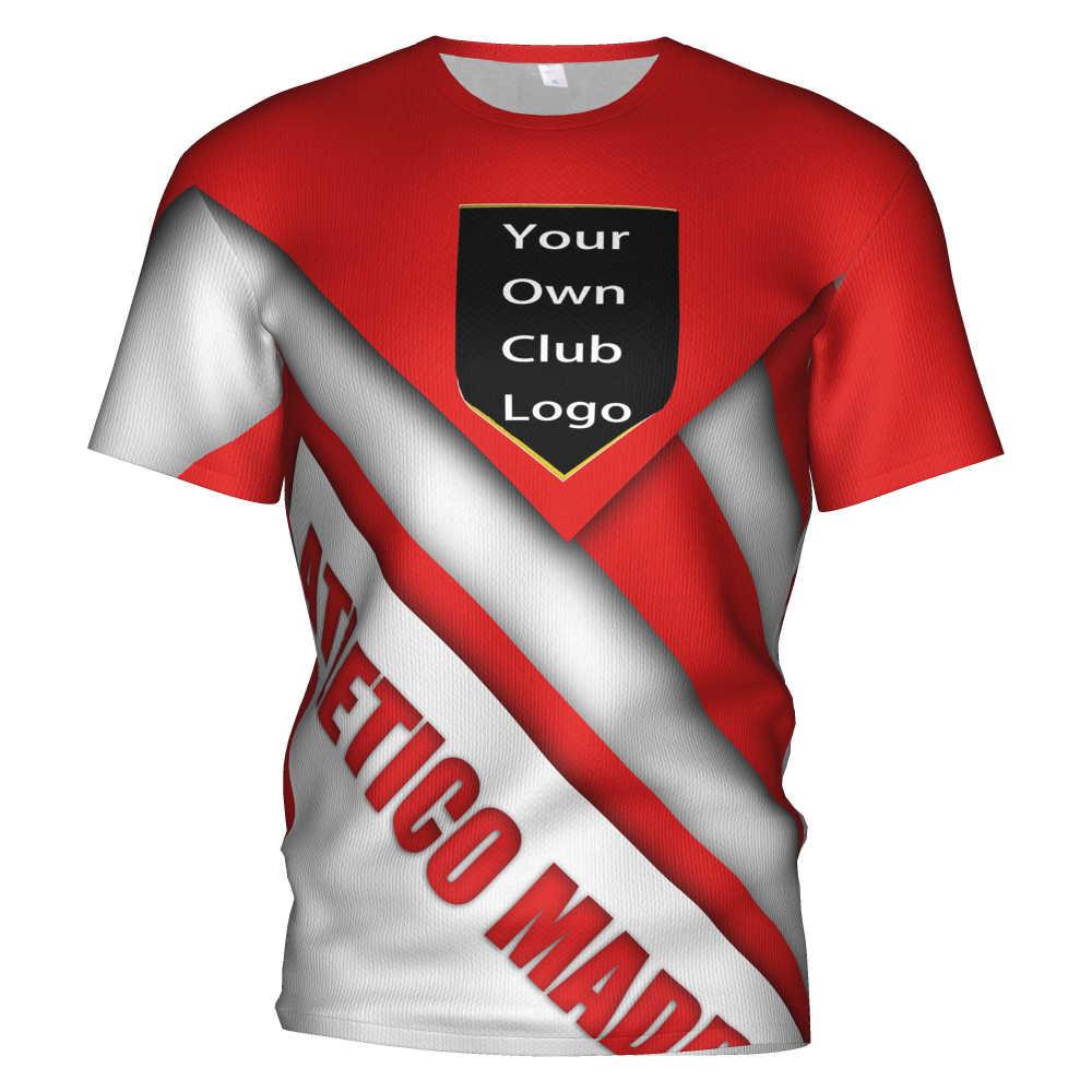 2020 New Atletico Madrid Soccer Jersey Football 3d T Shirt Atletico De Athletico Madrid Griezmann Men Kids Kit Tracksuit Tshirt T Shirts Aliexpress