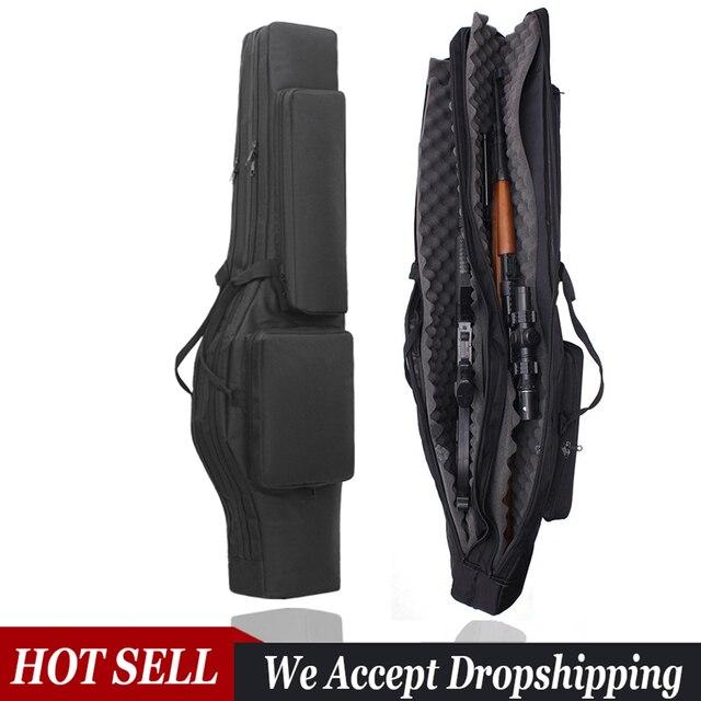 120ซม.ปืนยุทธวิธีปืนไรเฟิลกระเป๋าล่าสัตว์กระเป๋าเป้สะพายหลังCarbine HolsterยิงกรณีCS Multifunctionalกระเป๋าสำหรับตกปลา