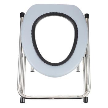 1pc komoda krzesło przenośne składane stabilne komoda krzesło stołek do toalety siedzenia dla kobiet w ciąży tanie i dobre opinie CN (pochodzenie)