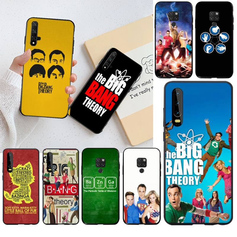 The <font><b>Big</b></font> <font><b>Bang</b></font> Theory DIY Painted Bling <font><b>Phone</b></font> <font><b>Case</b></font> for Huawei P40 P30 P20 lite Pro Mate 20 Pro P Smart 2019 prime image