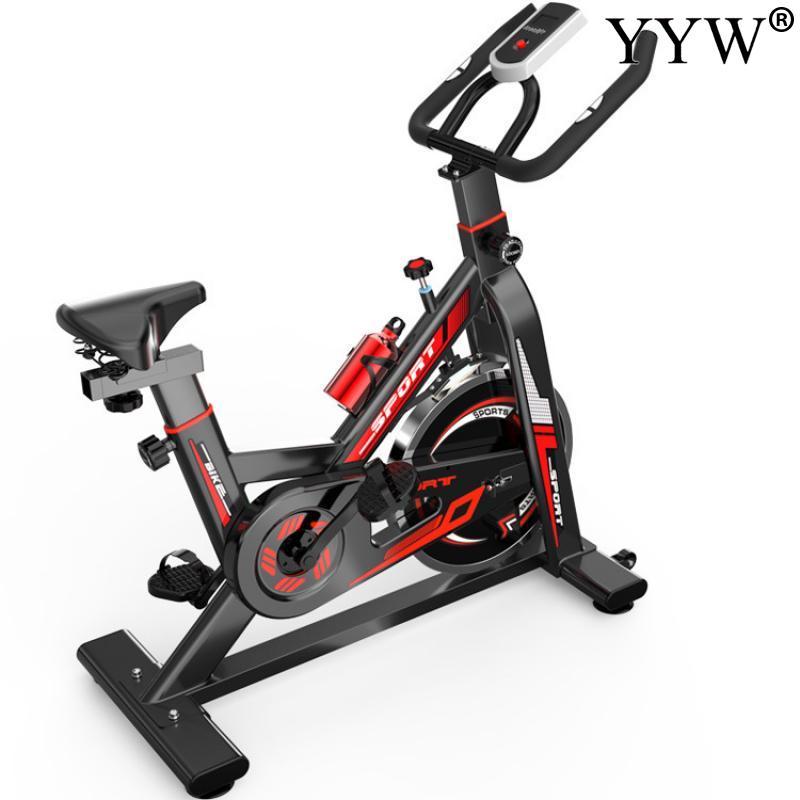 Equipamentos de Ciclismo Treinamento da Bicicleta Interior Ginásio Dinâmico Vermelho Spinning Equipamentos Fitness Exercício Doméstico 2020