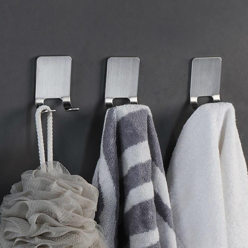Image 5 - Pongee Beard Shave Knife Rack Boring Hook Bathroom Organizer Wall Mounted Type Hook Bathroom Organizer Accessories Wall BathroomHooks & Rails   -