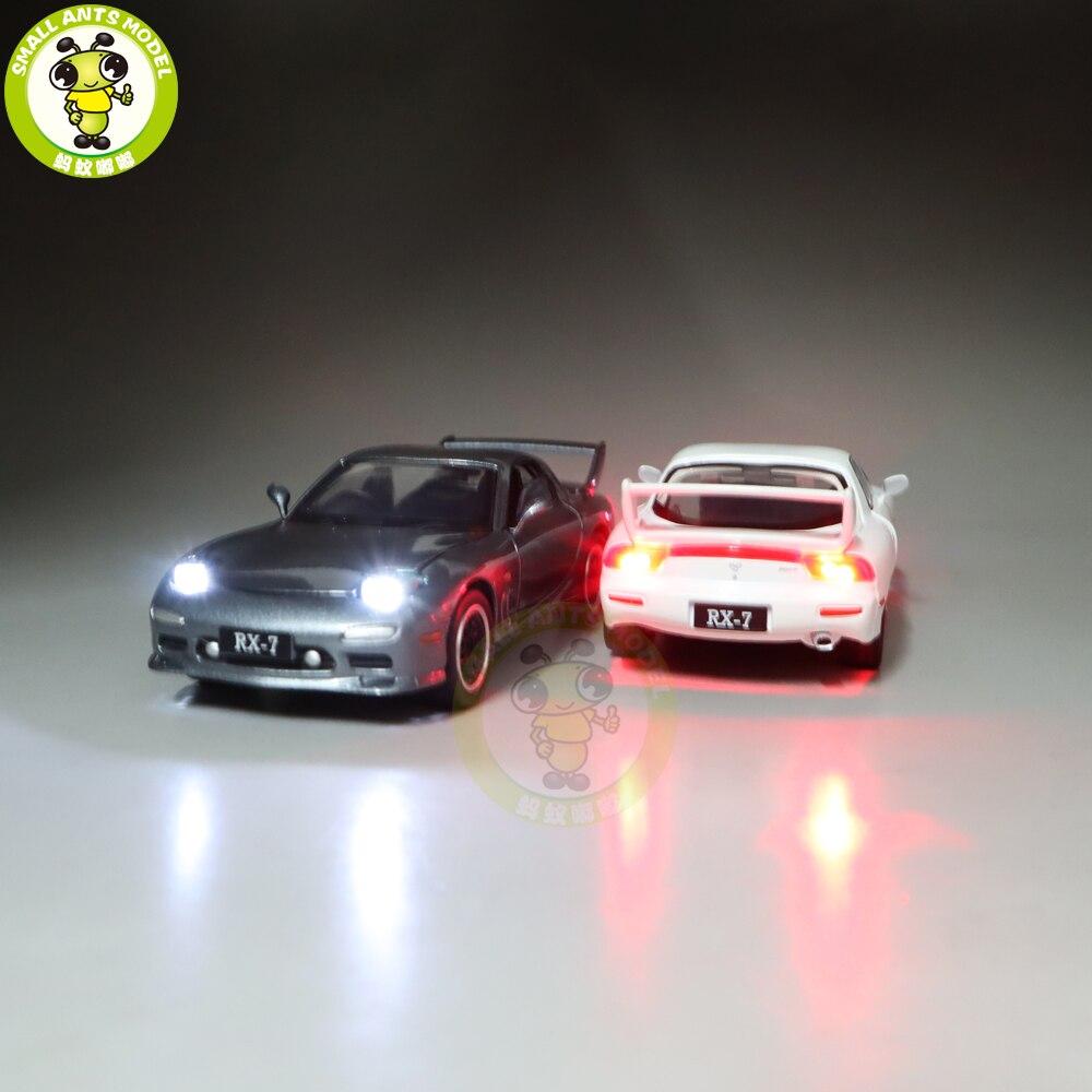 Image 3 - 1/32 JACKIEKIM MAZ DA RX 7 RX 7 литая модель автомобиля игрушки для детей Детское звуковое освещение подаркиИгрушечный транспорт   -