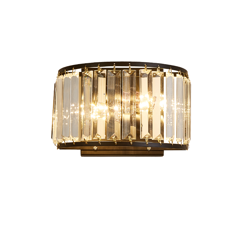 Modern LED crystal wall lamp Wall lights luminaria home lighting living room WALL light lampshade for Decoration