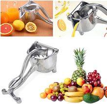 цена на Manual Juicer Stainless Steel Portable Manual Juicer Lemon Orange Juicer Extractor Fruit and Vegetable Juicer