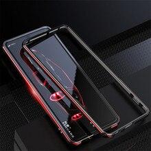Dành Cho Sony Xperia 1 Ốp Lưng Khung Kim Loại Màu Đôi Nhôm Ốp Lưng Bảo Vệ Dành Cho Sony Xperia 1 Ii Xperia1 Xperia 10 II Ốp Lưng
