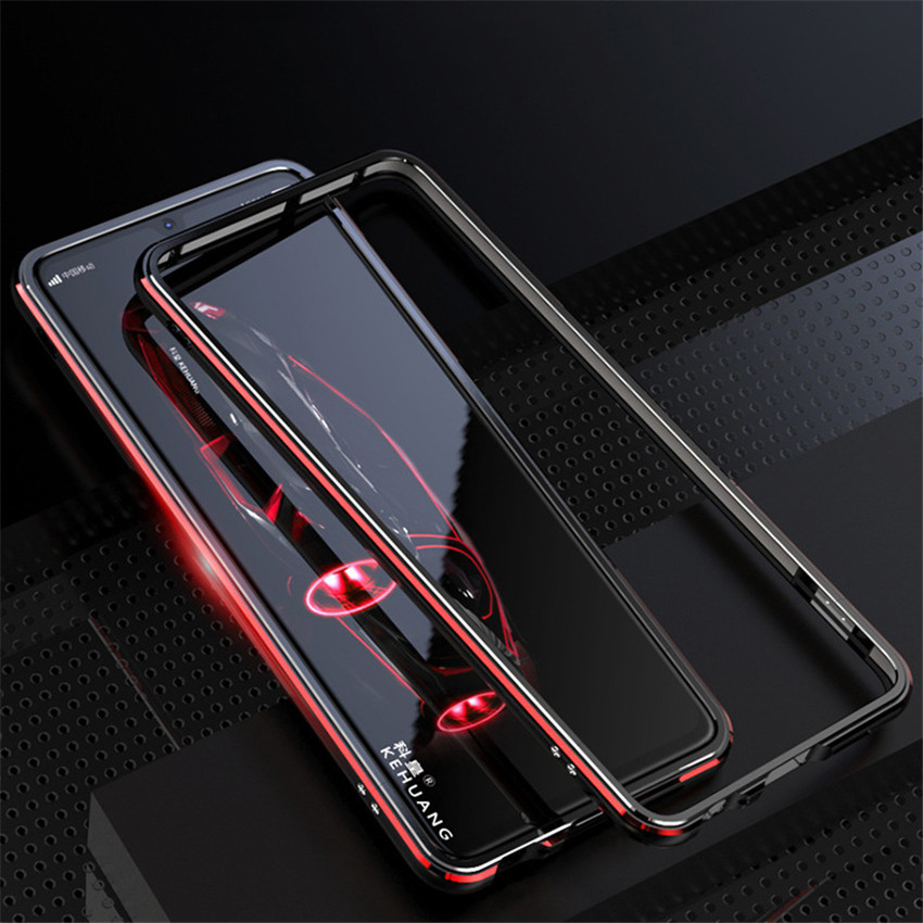 Plastic Back Cover with 1 Tempered Glass Screen Protector Protective for Sony Xperia L2 H3321 H4311 H4331 Sony L2 Metal Case+ Screen Protector ZLDECO Edge Anti-Shock Metal Frame Black
