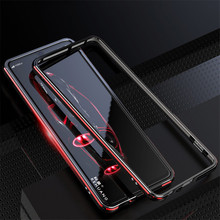 For Sony Xperia 1 Case Metal Frame Double Color Aluminum Bumper Protect Cover for Sony Xperia 1 ii Xperia1 Xperia 10 II Case