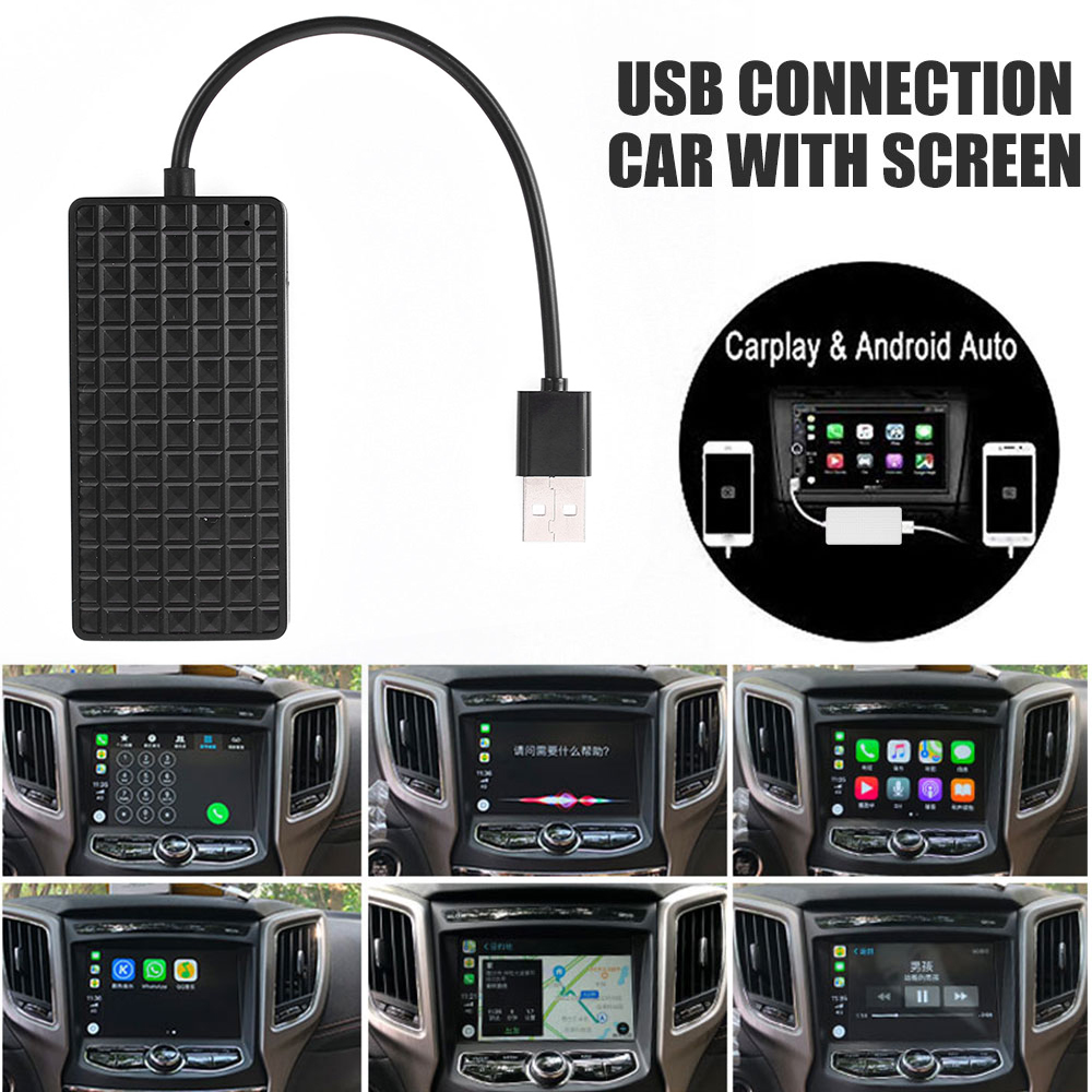 Vehemo Car play USB Smart Link Apple CarPlay Dongle For Android Navigation Player Mini USB Car play Stick With Android Auto