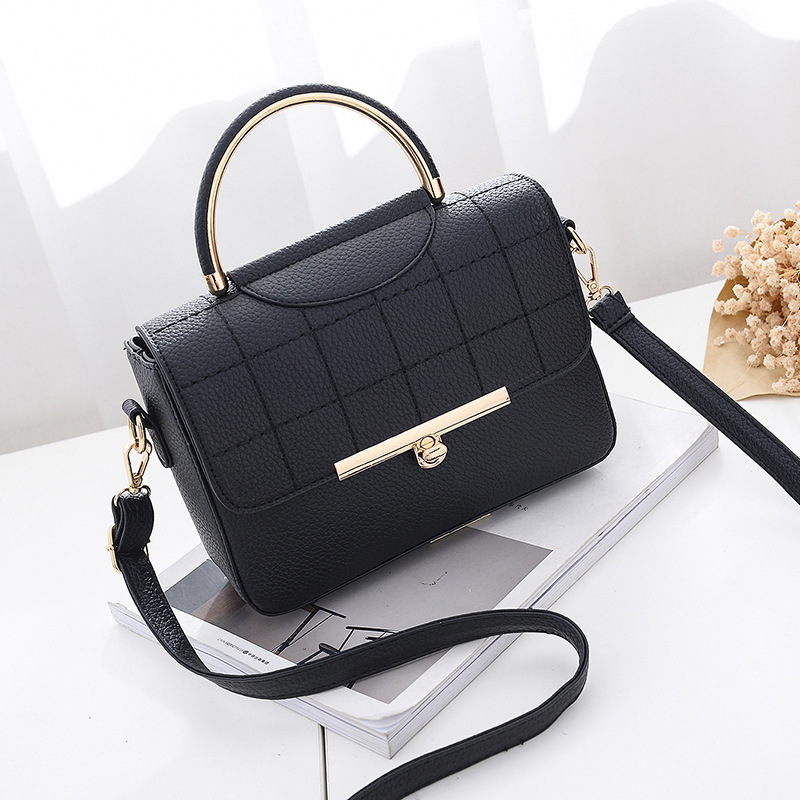 <font><b>REREKAXI</b></font> Fashion Women Handbag PU Leather Women's Shoulder Bag Lady's Crossbody Bag Female Flap Tote Designer Messenger Bags image