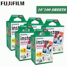 Fujifilm Instax מיני סרט 10 20 30 40 50 60 100 גיליונות 3 אינץ למיני 9 פולארויד פוג י מיידי תמונה מצלמה מיני 9 8 7s 70 90