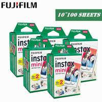 Fujifilm Instax Mini Film 10 20 30 40 50 60 100 Sheets 3 inch For mini 9 Polaroid FUJI Instant Photo Camera Mini 9 8 7s 70 90