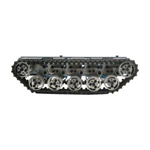 T300 RC Tank Chassis Metal Tracked Robot Chassis Smart Robot Car Chassis Shock Absorption Disassembled