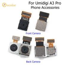 ocolor For UMIDIGI A3 Pro Back Rear Camera High Quality Assembly For Umidigi A3 Pro Front Camera Facing Camera Phone Accessories