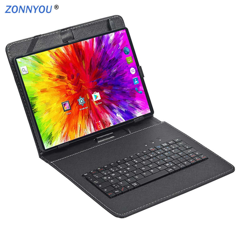 10.1 Inci Tablet PC 3G Tablet Android 7.0 Octa Inti Tablet RAM 4GB ROM 64GB Tablet IPS dual Sim Gps Tablet Android 10 Tablet PC
