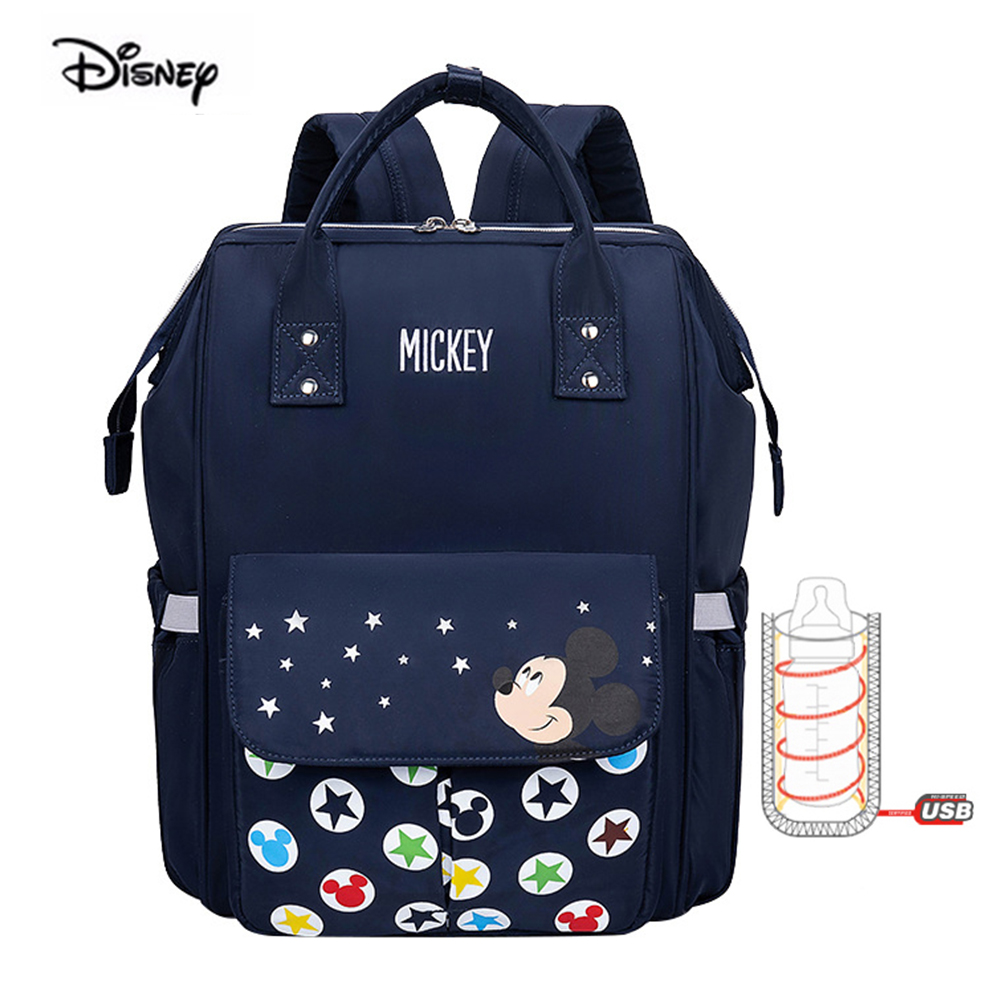 DISNEY 2020 New Style Single Shoulder Multi-functional Mummy Bag Fashion Large Capacity Mom Baby Maternity Package Diapers Packs