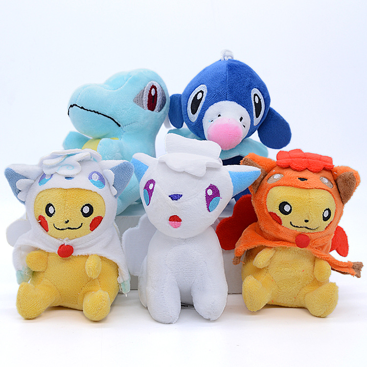 Takara Tomy 7 Different Styles Pokemon Gift Collection Animal Plush Stuffed Toys Dolls Action Figures Model For Children 2
