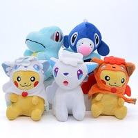 Takara Tomy 7 Different Styles Pokemon Gift Collection Animal Plush Stuffed Toys Dolls Action Figures Model For Children 2