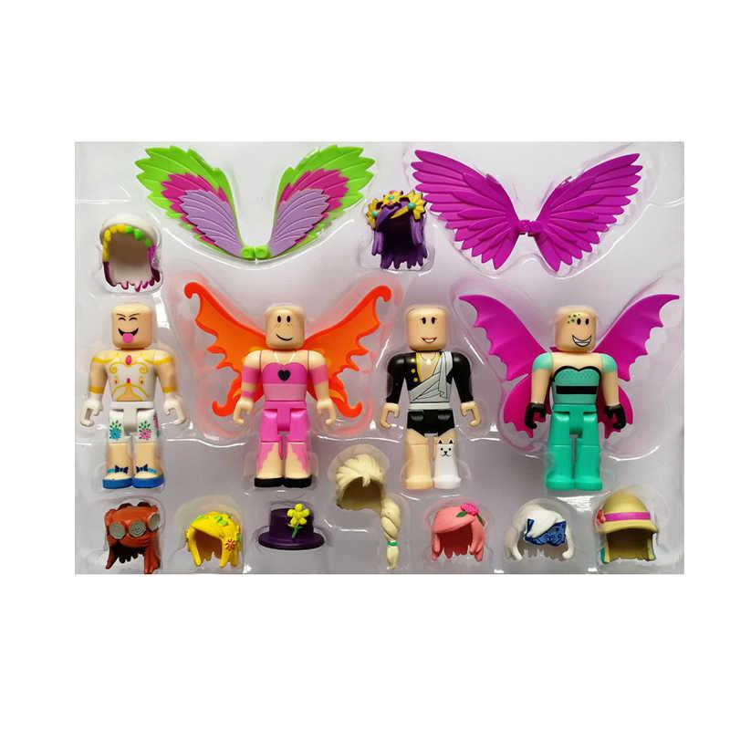 Roblox Mode-icoon Figuur Pack 7 Cm Poppen Jongens Kinderen Speelgoed Jugetes Model Beeldjes Collectie Figuras Kerstcadeaus Voor Kinderen