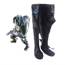 Anime Final Fantasy XIV Cosplay Shoes Boots Knight Cosplay Shoes Halloween Party Daily Leisure Game Cosplay Shoes