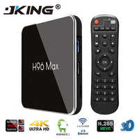 H96 Max X2 Android 9,0 TV BOX Amlogic S905x2 LPDDR4 4GB 64GB Quad Core 2,4G/5G Wifi 4K reproductor multimedia inteligente H96MAX PK X96.