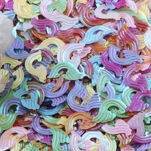 Paillettes Confetti Sequin Rainbow Wedding-Decoration Sewing 18mm PVC for Diy Home Gament
