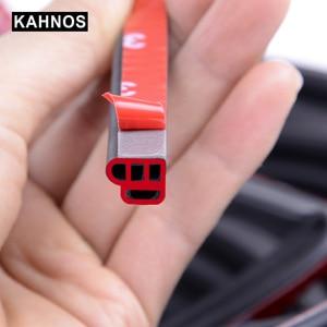 Image 3 - Joints détanchéité en caoutchouc pour portières de voiture, type L, Double couche, adhésifs, isolation phonique, bande résistante aux intempéries, accessoires dintérieur automobile