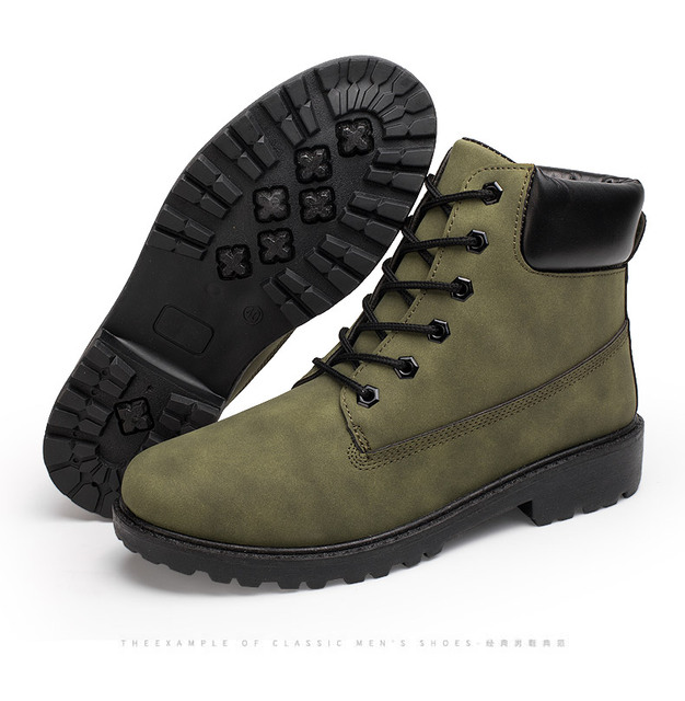 2019 Waterproof Men Women Timber Land Winter Boots New Snow Shoes Work Shoes Martins Ankle Boot military Army Boots Big Size